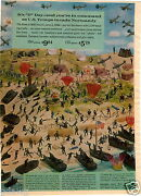 1964 Paper Ad Wwii D Day Us Troops Invade Normandy Toy Soldiers Paratroopers
