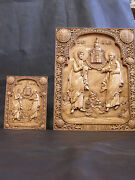 Medium 20 Orthodox Wooden Carved Icon - Saint Peter And Paul Church 508mm394mm