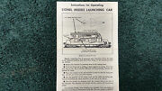 Lionel 6630 Irbm Rocket Launcher Missile Launching Car Instructions Photocopy