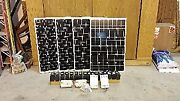2-100w Solar Panels, 1 Inverter, 1 Charge Control, And 8-12vdc/7ah Batteries