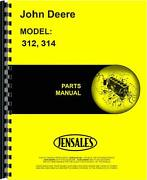 John Deere 312 314 Lawn And Garden Tractor Parts Manual Jd-p-pc1618