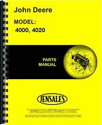 John Deere 4000 4020 Sn 201000 And Up Tractor Parts Manual Jd-p-pc1116