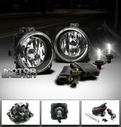 00-07 Focus/mustang/escape/lincoln Ls Bumper Fog Lights+6000k Hid+switch+harness