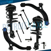 Pair Front Struts + 10pc Suspension Kit For Dodge Grand Caravan Town And Country