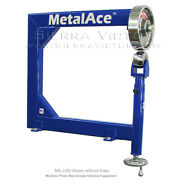 Metal Ace Benchtop English Wheel Ma-22b With Discovery Kit Madiscovery