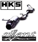 Hks Silent Hi-power Axle Back Exhaust For Legacy Liberty Be5 Ej206