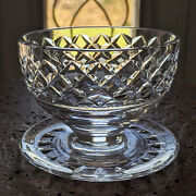 Waterford Crystal Maeve Footed Dessert Grapefruit Bowl Made In Ireland Tramore
