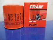 Fram P3726 Filter Element Sold In Lot Of 9 Filters