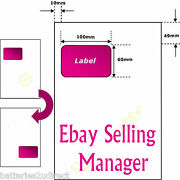 A4 Ebay Invoice Address Labels Paper Intergrated Smp Packaging Peel Off Sticker
