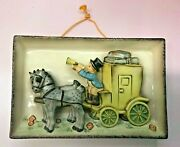 Goebel Hummel   The Mail Is Here Wall Plaque Brand New Rare Vintage Nos Usa