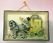 Goebel Hummel | The Mail Is Here Wall Plaque Brand New Rare Vintage Nos Usa