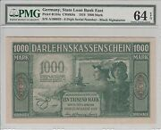 Kowno 1000 Mark 1918 Banknote Unc R134a S/n A190935 Lithuania Germany Poland