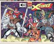 X-force 1 Rob Liefeld Art Original Production Cover Proof 1st 1991 Cable X-men
