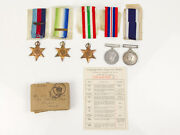 Wwii British Medals And Mid To Po On Hms Aurora And Diadem