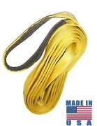 Nylon Lifting Sling 6 X 30' Ft Double Ply Tow Recovery Crane Strap 2-ply Pull