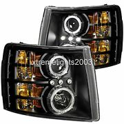 Forest River Legacy 2013 2014 Black Led Head Lights Lamps Headlights Rv Pair