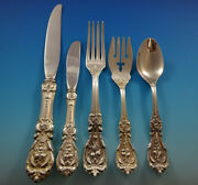 Francis I Reed And Barton Sterling Silver Flatware Service For 12 Set 60 Pieces