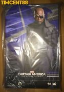 Ready Hot Toys Mms315 Captain America The Winter Soldier - Nick Fury 1/6 Figure