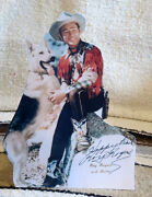 Roy Rogers And Bullet King Of The Cowboys Figure Tabletop Display Standee 10