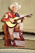 Roy Rogers And Trigger King Of The Cowboys Figure Tabletop Display Standee 10.5