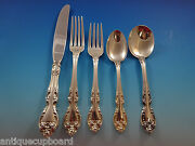 Melrose By Gorham Sterling Silver Flatware Set For 6 Service 30 Pieces