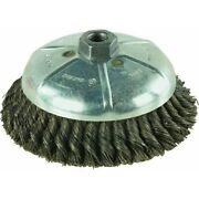 Vortec Knot Cup Brush,no 36045, Weiler Corp