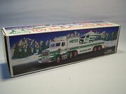 Vintage Hess Collectible 1995 Toy Truck And Helicopter W/ Original Box