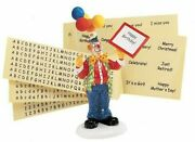 Department 56 | Send In The Clown New 56.55021 Retired Rare Snow Village Bday