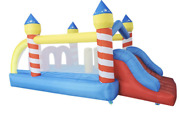 16x8xx6 Backyard Inflatable Bounce House Castle Ball Slide Home Obstacle Course