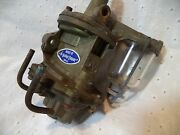 Vintage Ac Fuel Pump Stamped 5592316 Made In Usa Glass Bowl Vintage Cars
