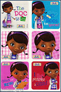 Doc Mcstuffins Stickers X 18 24 30 And 36 Birthday Party Favours Favors Rewards