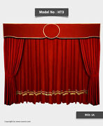 Saaria Stage And Event Backdrop/movie Cinema Velvet Curtains 14'w X 9'h Ht3