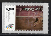 New Zealand 2730a 2004 2 Olympic Stamp - Inverted Center W/cert {scarce/rare}