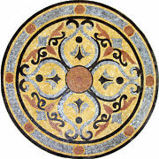 Decor Home Garden Traditional Celtic Round Medallion Marble Mosaic Md544