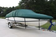 New Vortex Combo Pack Heavy Duty Green 11 12 13and039 Boat Cover + Support System