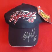 Sterling Marlin Signed Autographed Coors Light Nascar Hat Winner Circle New Cap