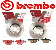 Brembo Front Pads And Rotors Set Bmw 335i 07-08 // E90 335xi 07-08