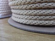 1/4 X 277 Ft.technora Solid Braid Rope. Uncoated. Flow Arts/utility. Made In Usa