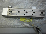 Smc Mxq16-125asf Pneumatic Air Slide Table Linear Stage New D-m9n Switches