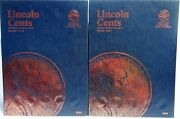 Whitman Lincoln Cent 3 And 4 1975-2015 Coin Folders, Albums Books