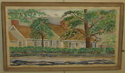 Early John Burton Harter Eastham Cape Cod House Painting - Listed New Orleans
