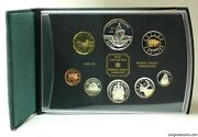 Canada 1998  Proof Double Dollar Set 8 Coins