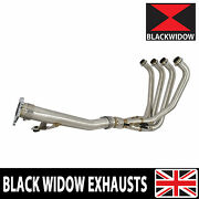 Gsf 1200 Gsf1200s Bandit Exhaust Race Header Pipes + 3 Bolt Link Pipe 1996-2006
