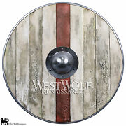 Aged Wood Plank Viking Shield --- Sca/larp/norse/norway/medieval/antique/armor