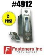 Qty 2 Metal Electrical Outlet Box For Unistrut Channel 2 X 4 4912 Ps-2639