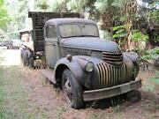 1945 And 1947 Chevrolet Trucks