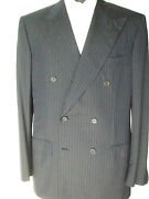 New Brioni Suit 100 Wool Super 180and039s Size 40 Us 50 Eu Made In Italy Cod E