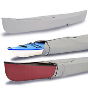 Eliteshield Canoe Kayak All Weather Boat Cover Fits Up To 12and039l Grey