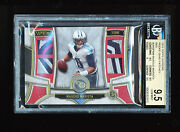 Bgs 9.5 Marcus Mariota 2015 Topps Supreme Red Quad Patches Titans Jersey D 1/1