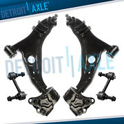2007-2014 Lincoln Mkx Ford Edge Front Lower Control Arm Sway Bar Link Set
